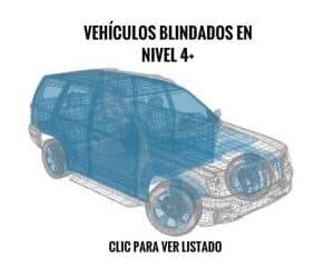 Nivel 4+ | Carros blindados en venta